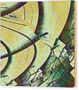 Fragmentation Wood Print