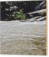Granite River Wood Print