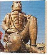 Great Bronze Hanuman - India Wood Print