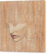Head Of Proserpine Wood Print