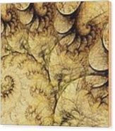 Idea Of A Tree Wood Print
