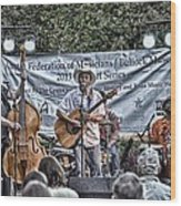 John Arthur Martinez Band Wood Print