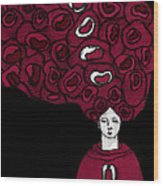Keepers No 16 Wood Print by Milliande Demetriou