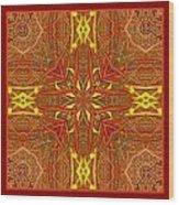Keltic Cross Wood Print