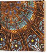 Lafayette Light Wood Print