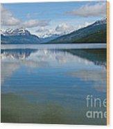 Lago Roca In Tierra Del Fuego National Park Wood Print