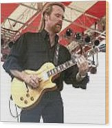 Lee Roy Parnell Wood Print