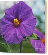 Little Flowers Wood Print