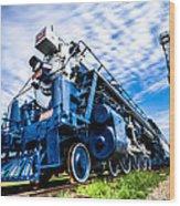 Locomotive Wood Print