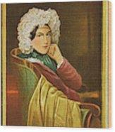 Marie Daffinger  Wife Of Artist Wood Print