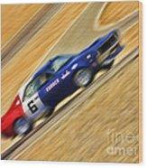 Mark Donohue 1970 Amc Javelin Wood Print
