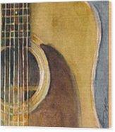 Martin Guitar D-28  Wood Print