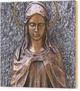 Mary Daughter Of Joachim Wood Print