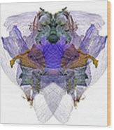 M.deltet Wood Print