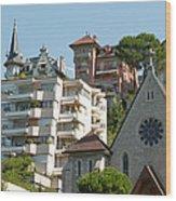 Montreux Wood Print