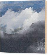 Mt. Bierstadt In The Clouds Wood Print