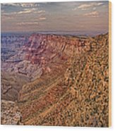 Navajo Viewpoint In Grand Canyon National Park Wood Print