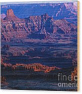 Needles Overlook  Wood Print