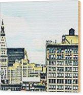 New York City Wood Print by Ken Marsh