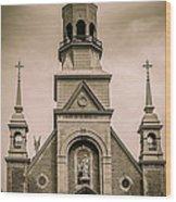 Notre-dame-de-bon-secours Chapel  Wood Print