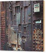 Nyc Designer's Dungeon Door Wood Print