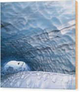 Paradise Ice Caves Wood Print