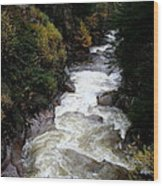 Pemigewasset River White Mountains Wood Print