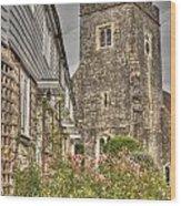 Plaxtol Church And Church Row Wood Print