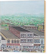 Portsmouth Ohio 1948 Dime Store Row 3rd To 4th Wood Print