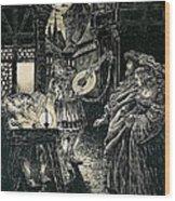 Poster Of The Mastersingers Of Nuremberg  Wood Print