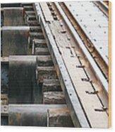 Railway To Somewhere Wood Print