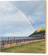 Rainbow Over Bray Head Wood Print