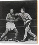Rocky Marciano Wood Print