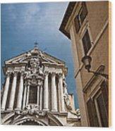 Santi Vincenzo E Anastasio A Trevi Wood Print