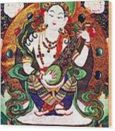 Saraswati 10 Wood Print
