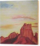 Sedona Az Wood Print