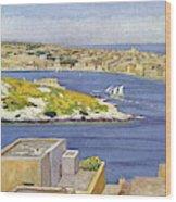 Sliema  A Suburb Of Valletta,  Popular Wood Print