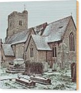 St Mary And All Saints Boxley Wood Print