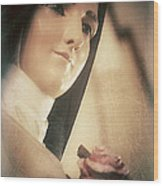 St. Therese Wood Print