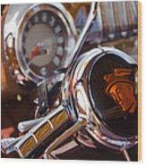 Steering Mercury Wood Print