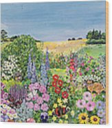 Summer From The Four Seasons Wood Print