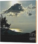 Sunset At Five Islands Wood Print