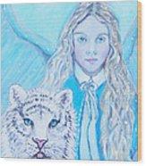 Tatiana Wood Print
