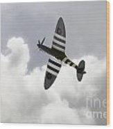 The Blue Spitfire Wood Print