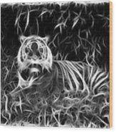 Tiger Spirit Wood Print