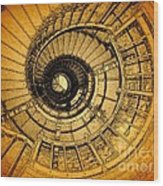 To The Top Wood Print