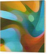 Tree Light 1 Wood Print