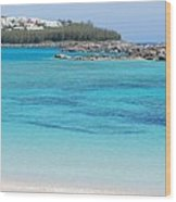 A Vision Of Turtle Bay, Bermuda Wood Print