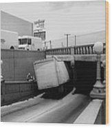 6th Street Underpass Truck Accident Tucson Arizona 1984 Wood Print