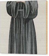 Ursuline Nun Devoted To Saint Ursula Wood Print